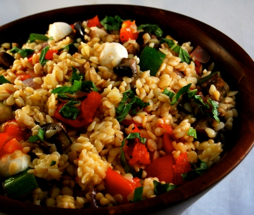 finished orzo
