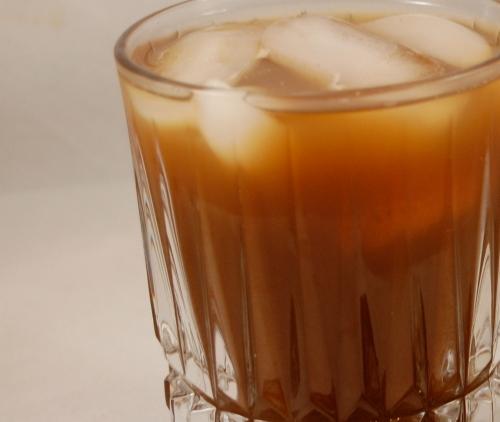 homemade iced coffee goodness