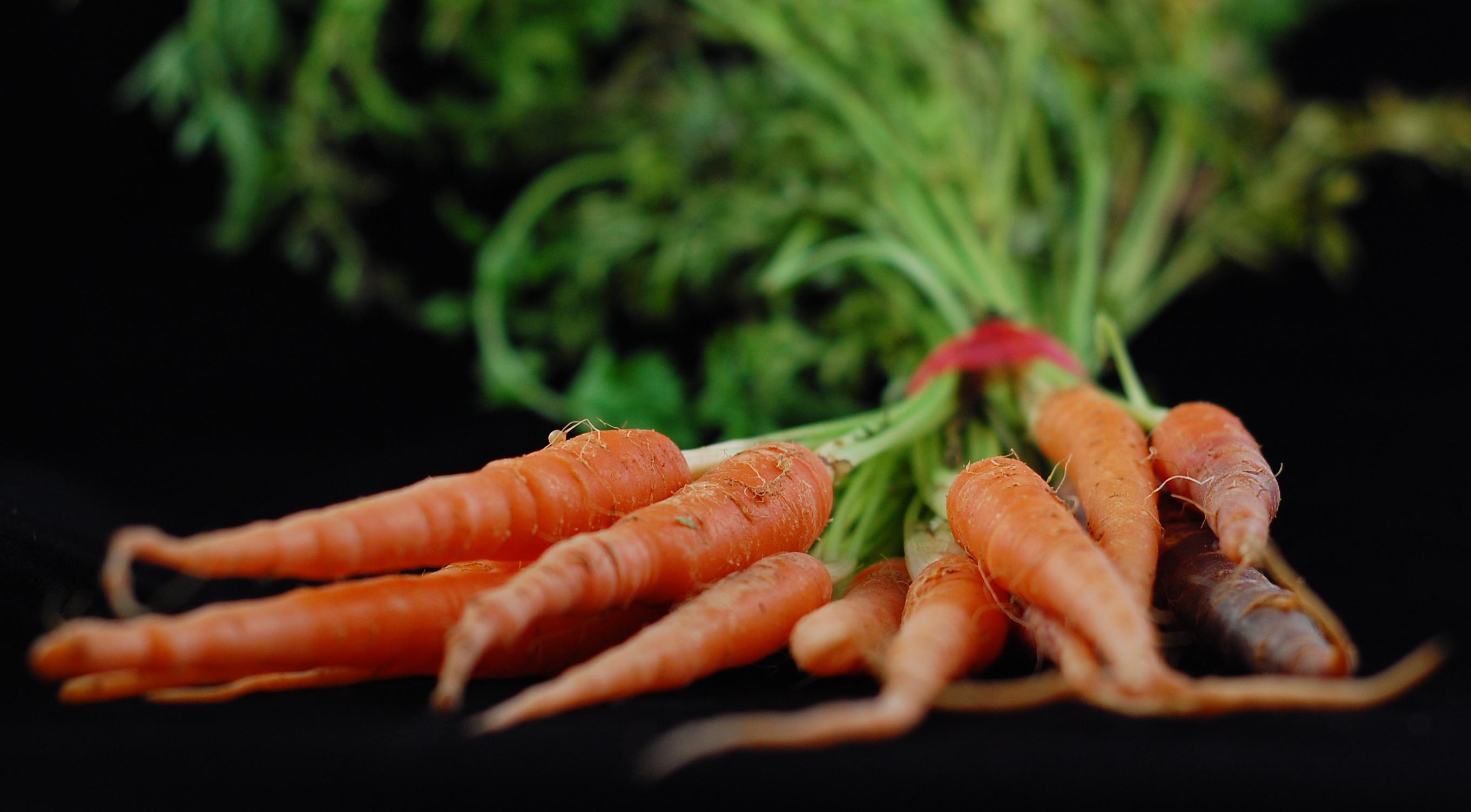 pretty carrots