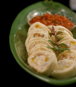 tortilla rolls platter