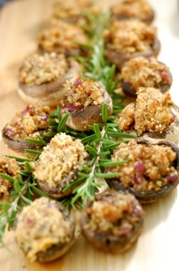 stuffed mushrooms curvy